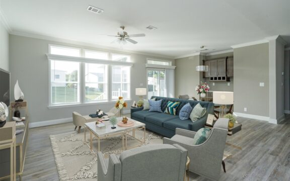 Malibu Model 2 Living Room Virtually Furnished