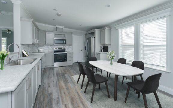 Wellington Model 2 Dining Area Virtually Furnished