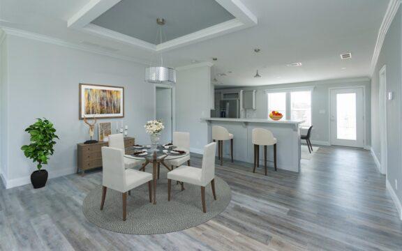 Wellington Model 2 Living Room Virtually Furnished
