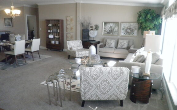 Great room - Wellington X348F6 by Palm Harbor Homes