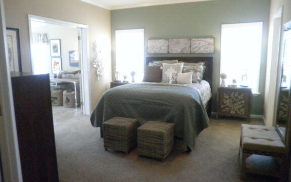 Master suite connecting to sun room retreat - Wellington X348F6 by Palm Harbor Homes