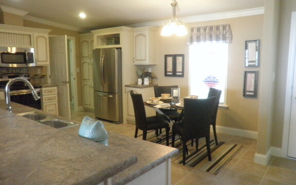 Breakfast nook - Wellington X348F6 by Palm Harbor Homes