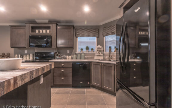 Beautiful cabinetry and plenty of storage - Siesta Key II P2566Q by Palm Harbor Homes