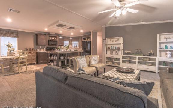 Open concept floor plan - Siesta Key II by Palm Harbor Homes