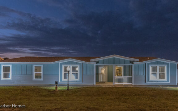 Tradewinds Exterior by Palm Harbor Homes - 4 Bedrooms, 3 Baths, 2595 Sq. Ft.