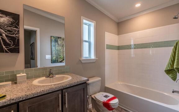 Guest Bathroom - The Ventura VI TL30483C, 3 Bedrooms, 2 Baths, 1,440 Sq. Ft.