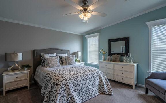 Master Bedroom - The Ventura VI TL30483C, 3 Bedrooms, 2 Baths, 1,440 Sq. Ft.