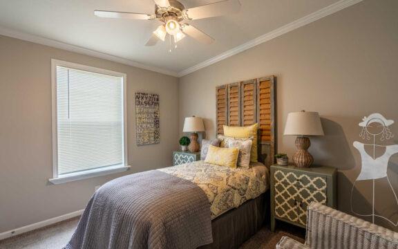 Guest Bedroom - The Ventura VI TL30483C, 3 Bedrooms, 2 Baths, 1,440 Sq. Ft.