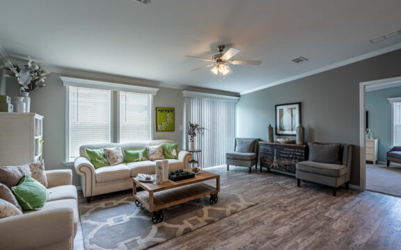 Living room - The Ventura VI TL30483C, 3 Bedrooms, 2 Baths, 1,440 Sq. Ft