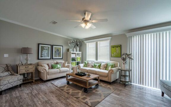 Living room - The Ventura VI TL30483C, 3 Bedrooms, 2 Baths, 1,440 Sq. Ft.